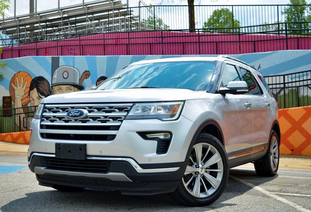 Used 2018 Ford Explorer Limited for sale $25,985 at Gravity Autos in Roswell GA 30076 1