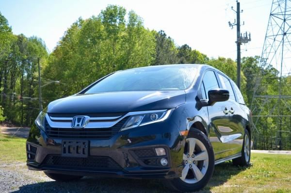 Used 2018 Honda Odyssey EX for sale $26,985 at Gravity Autos in Roswell GA 30076 1