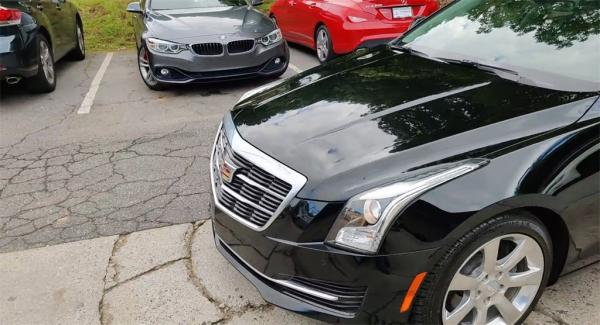 Used 2016 Cadillac ATS 2.0L Turbo Luxury for sale Sold at Gravity Autos in Roswell GA 30076 4