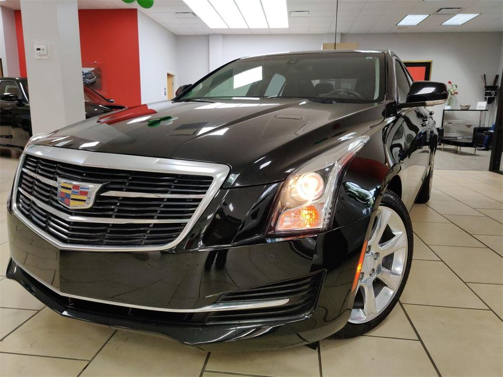 Used 2016 Cadillac ATS 2.0L Turbo Luxury for sale Sold at Gravity Autos in Roswell GA 30076 1