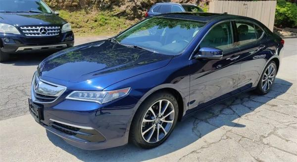 Used 2017 Acura TLX 3.5L V6 for sale Sold at Gravity Autos in Roswell GA 30076 4