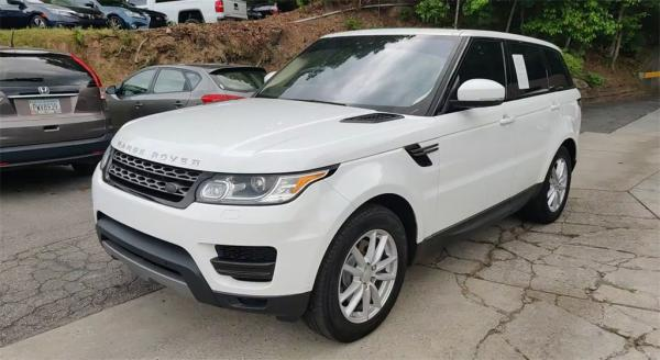 Used 2017 Land Rover Range Rover Sport 3.0L V6 Supercharged SE for sale $37,985 at Gravity Autos in Roswell GA 30076 4