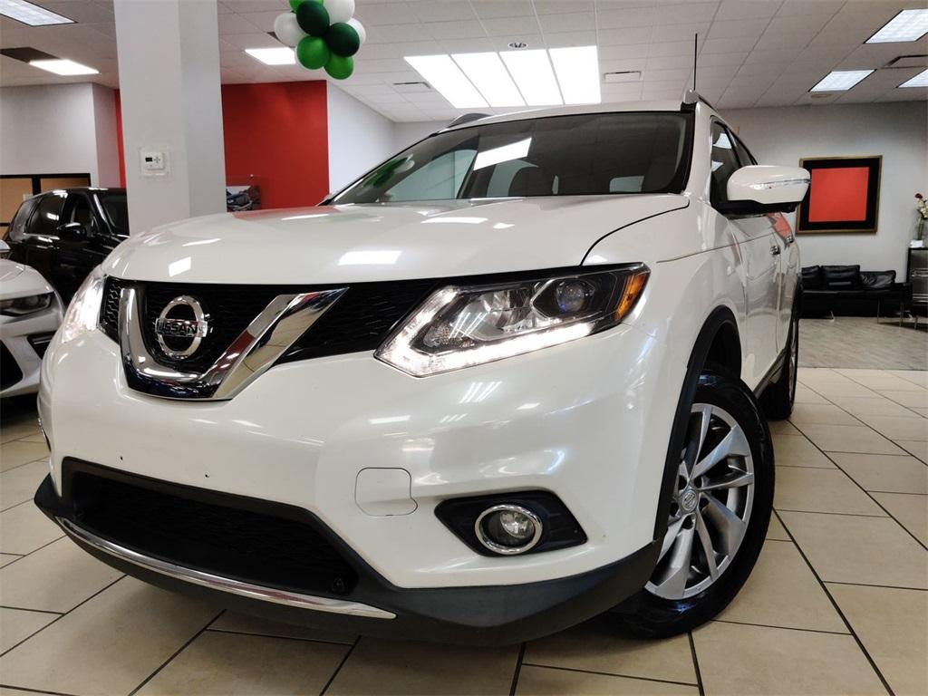 Used 2015 Nissan Rogue SL for sale $15,893 at Gravity Autos in Roswell GA 30076 1
