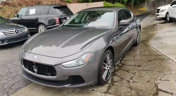 Used 2017 Maserati Ghibli S for sale $34,985 at Gravity Autos in Roswell GA 30076 4