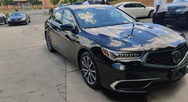 Used 2018 Acura TLX 3.5L V6 for sale Sold at Gravity Autos in Roswell GA 30076 3