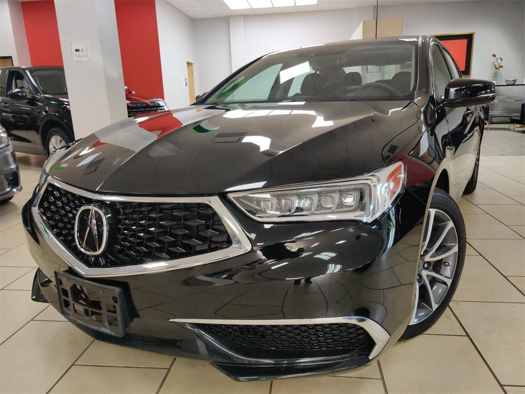 Used 2018 Acura TLX 3.5L V6 for sale Sold at Gravity Autos in Roswell GA 30076 1