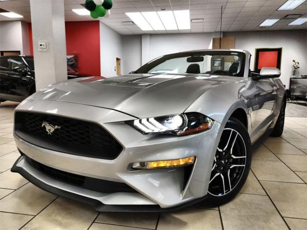 Used 2019 Ford Mustang EcoBoost Premium for sale Sold at Gravity Autos in Roswell GA 30076 1