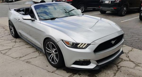 Used 2015 Ford Mustang EcoBoost Premium for sale Sold at Gravity Autos in Roswell GA 30076 3