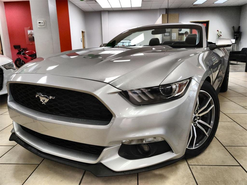 Used 2015 Ford Mustang EcoBoost Premium for sale Sold at Gravity Autos in Roswell GA 30076 1