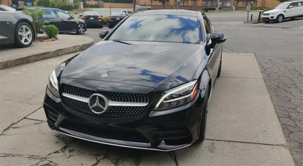 Used 2019 Mercedes-Benz C-Class C 300 for sale Sold at Gravity Autos in Roswell GA 30076 4